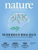 THE NEW WORLD OF MENTAL HEALTH, Nature Cover vom 7. April 2016